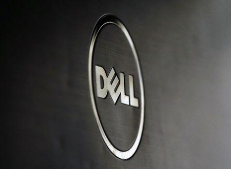 A Dell logo is seen in this illustration picture taken in Sarajevo
