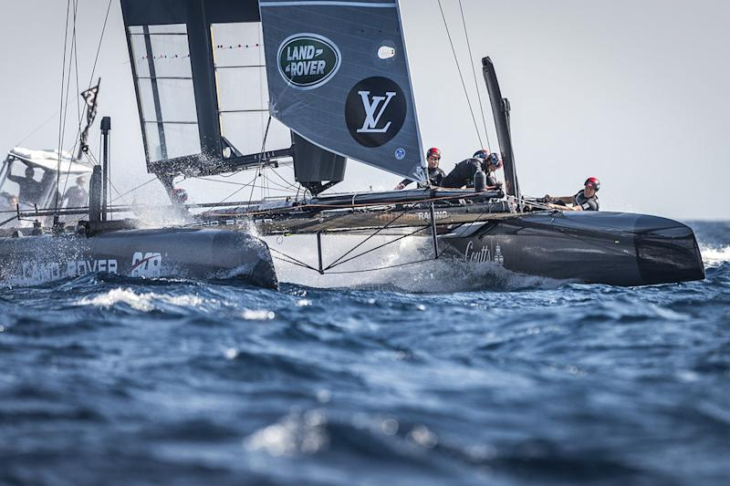 land rover bar americas cup yacht race open sail day of louis vuitton america s world series toulon