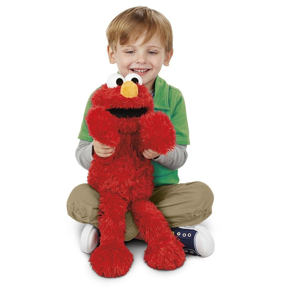 <p>What tot doesn't want their very own true-to-life Sesame Street character? The <span>Playskool Sesame Street Love2Learn Elmo</span> ($95) is a cuddly plush toy that engages with more than 350 responses and grows with your toddler thanks to a beginner mode, which offers simpler cause-and-effect play like tummy-tickling, and a preschool mode with games and activities. </p>