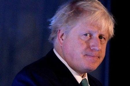 Britain's Foreign Secretary Boris Johnson attends the 2017 Chatham House London Conference at the St Pancras Renaissance Hotel in London