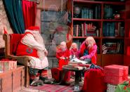 Elves left idle as pandemic strikes Santa's Lapland village