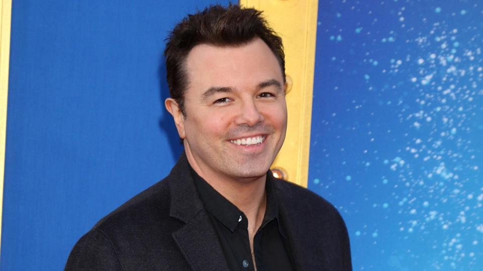 """LOS ANGELES - DEC 3: Seth MacFarlane at the """"Sing"""" Premiere at Microsoft Theater on December 3, 2016 in Los Angeles, CA."""