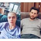 """<p>Early into the pandemic, the BFF group composed of Tommy Dorfman, Kaia Gerber, Ashley Benson, Cara Delevingne, and Margaret Qualley decided to <a href=""""https://www.instyle.com/news/cara-delevingne-ashley-benson-kaia-gerber-self-quarantine-covid-19"""" rel=""""nofollow noopener"""" target=""""_blank"""" data-ylk=""""slk:stick it out together"""" class=""""link rapid-noclick-resp"""">stick it out together</a>. But in May, <a href=""""https://people.com/style/cara-delevingne-and-ashley-benson-split-after-nearly-two-years-of-dating/"""" rel=""""nofollow noopener"""" target=""""_blank"""" data-ylk=""""slk:Ashley and Cara broke up"""" class=""""link rapid-noclick-resp"""">Ashley and Cara broke up</a>, so it seems the group is no longer quarantining together.</p><p><a href=""""https://www.instagram.com/p/B9z5JqxBMic/?utm_source=ig_embed"""" rel=""""nofollow noopener"""" target=""""_blank"""" data-ylk=""""slk:See the original post on Instagram"""" class=""""link rapid-noclick-resp"""">See the original post on Instagram</a></p>"""