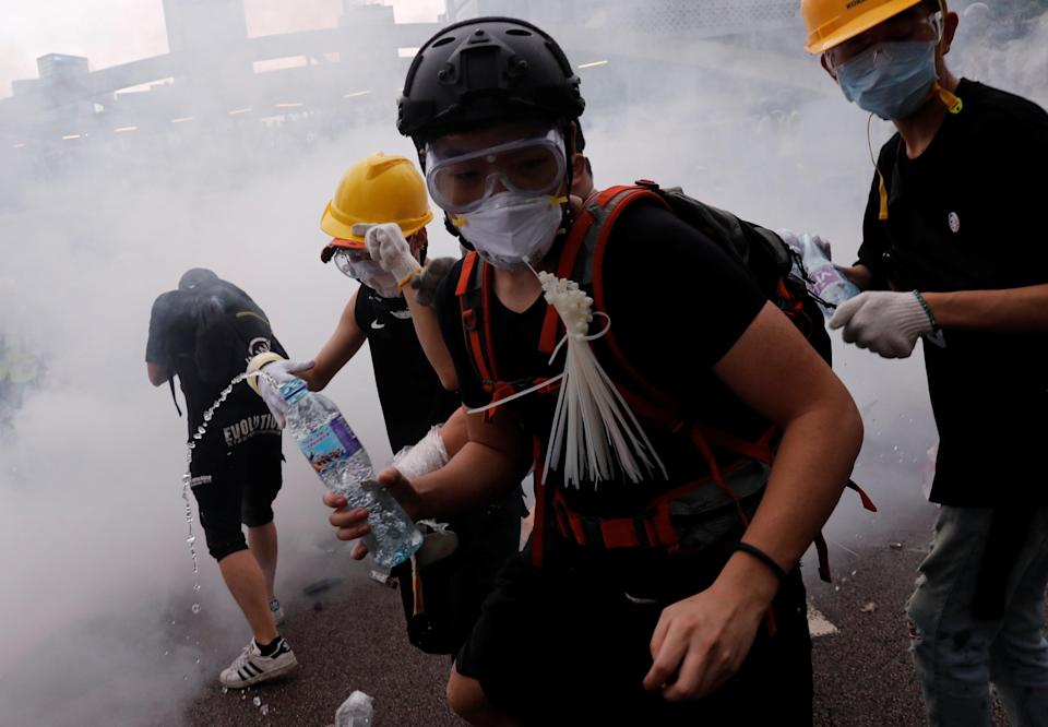 China doesn't want to see mass protests again in Hong Kong (REUTERS)