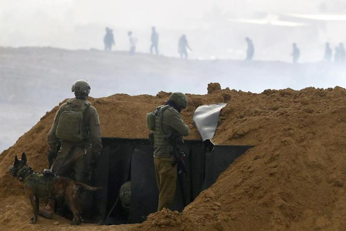 Israel accuses Hamas of orchestrating violence, but its soldiers' use of live fire has come under heavy criticism (AFP Photo/Jack GUEZ )