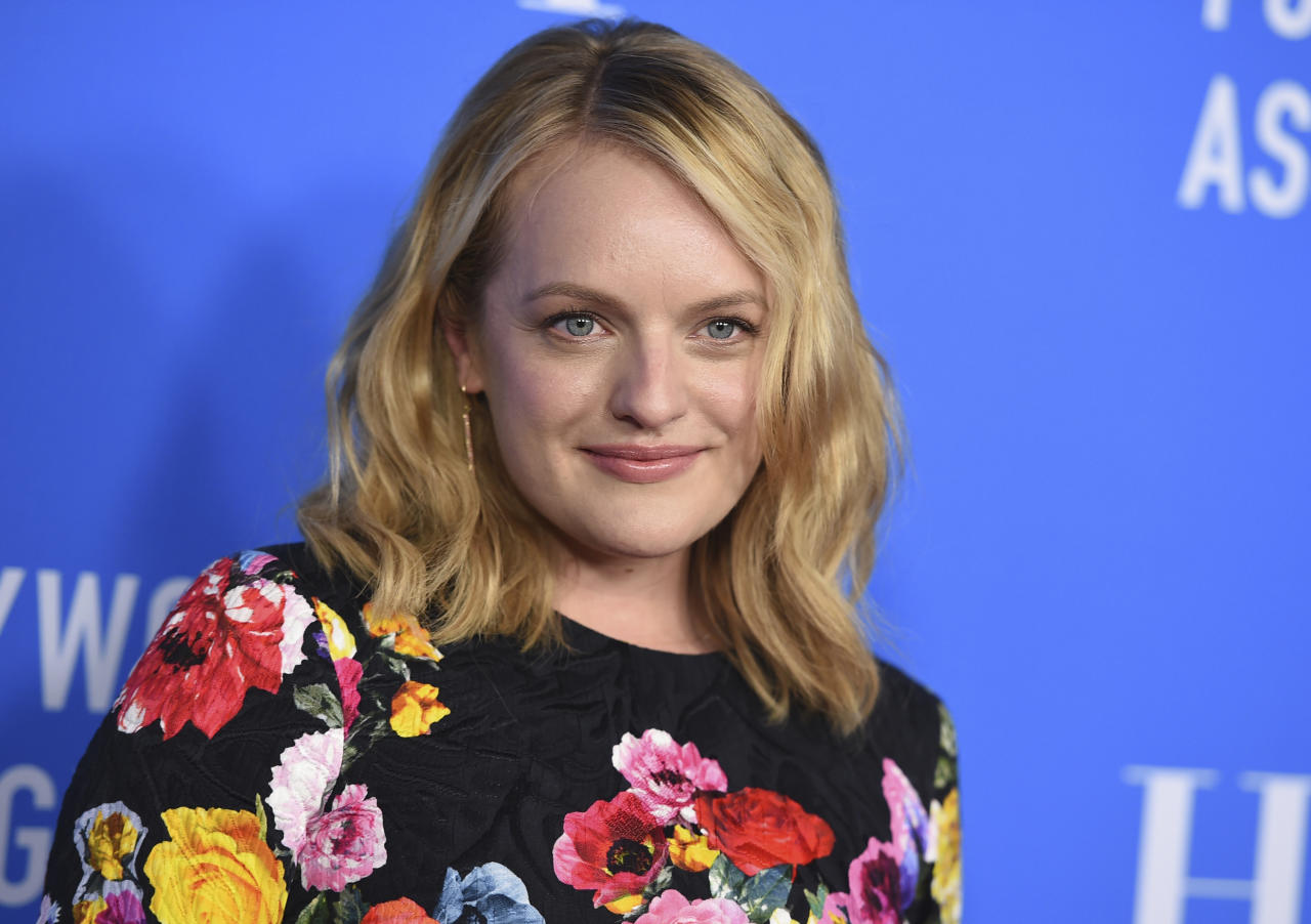 <p>Been riveted to 'The Handmaid's Tale'? Loved her in 'Mad Men'? Well, Moss was raised a Scientologist by her musician parents. She says the church helps her to 'respect herself as an individual'. (AP) </p>