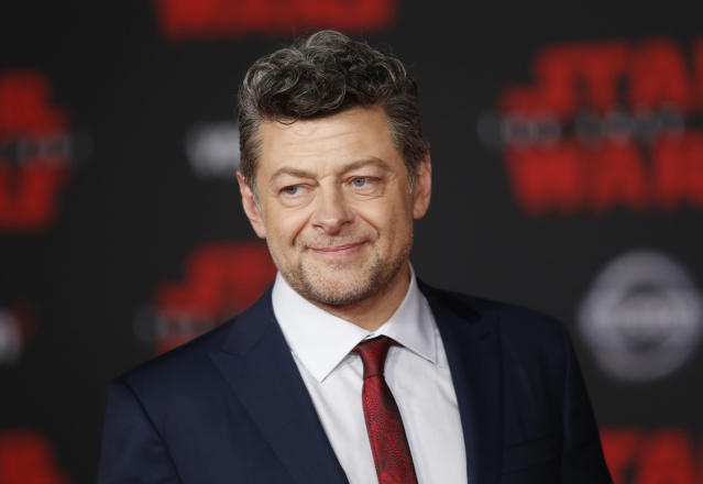 "World Premiere of ""Star Wars: The Last Jedi"" – Arrivals – Los Angeles, California, U.S., 09/12/2017 – Actor Andy Serkis. REUTERS/Danny Moloshok"
