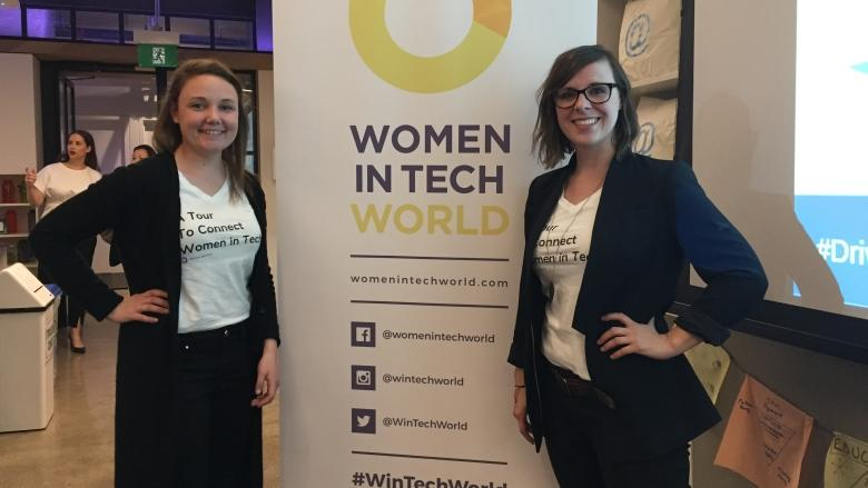 A grassroots group comes to Toronto to hear from women in tech