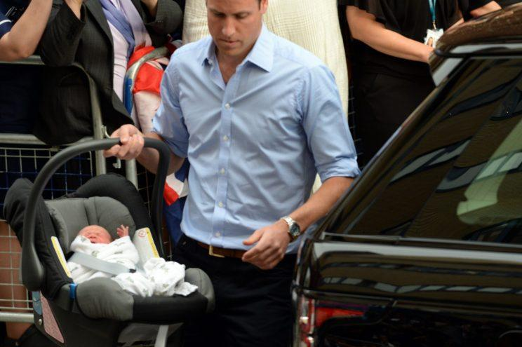 Even the Duchess and Cambridge and Prince William were on the receiving end of criticism about car seat safety [Photo: PA Images]