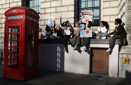 'We are scared - listen to us!' London students demand at climate protest