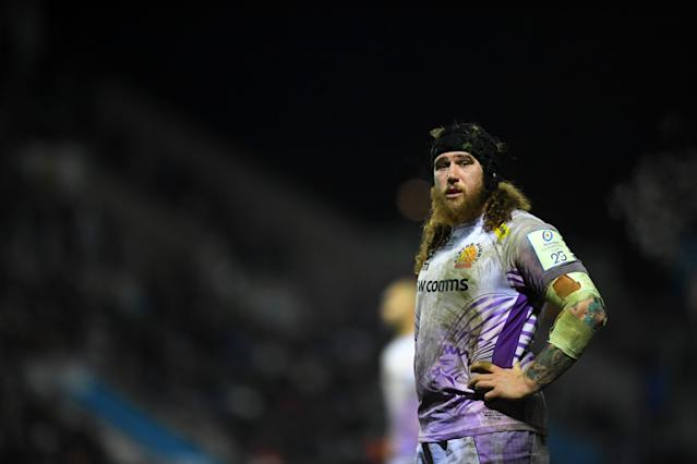 Harry Williams of Exeter Chiefs. (Photo by Harry Trump/Getty Images)