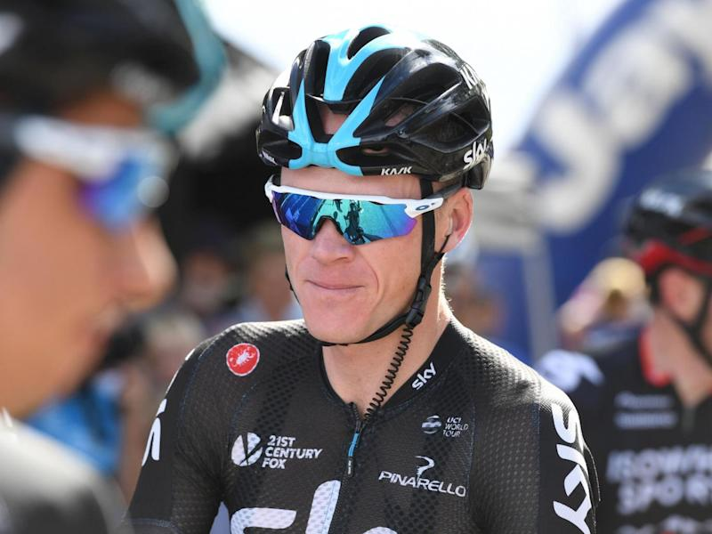 Froome is not thought to have done anything wrong (Getty)