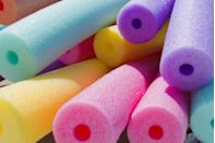 <p>When pool noodles became popular, it was kind of mind-blowing. Being able to float on something you didn't have to blow up just made you feel really, really cool—that, and being able to shoot water out of one end like an elephant, of course. </p>