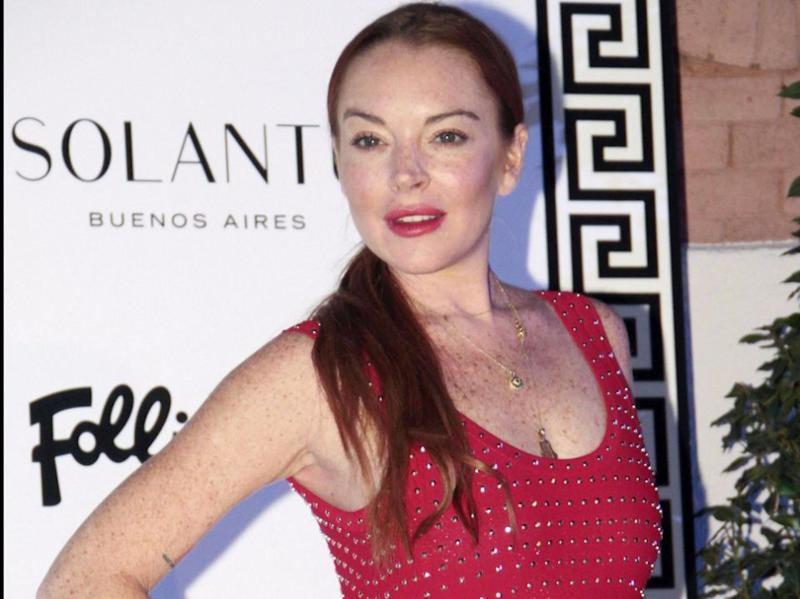 The women have all changed a lot in the last 11 years. Pictured, Lindsay Lohan at an event in September. Source: Getty