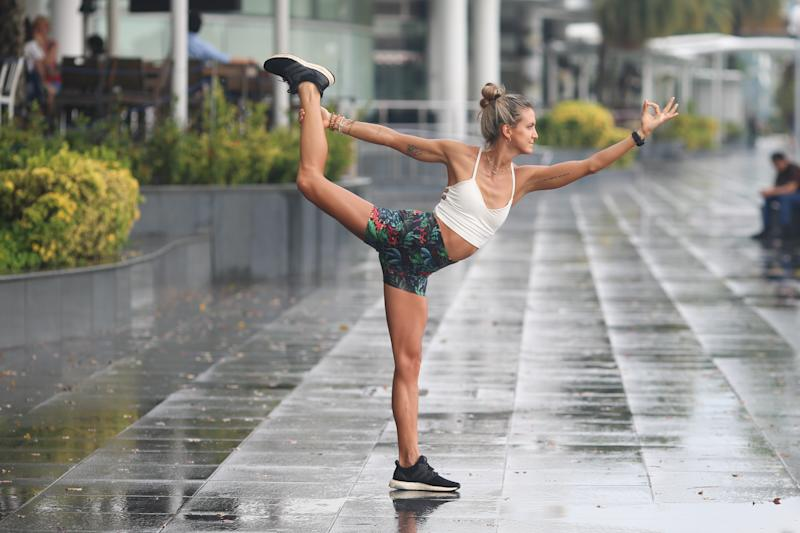 Singapore #Fitspo of the Week: Giulia Bossi (PHOTO: Cheryl Tay)
