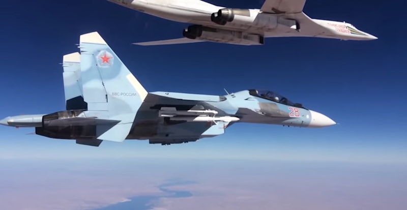 su 30 escorting tu 160