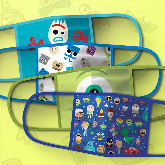 Pixar Cloth Face Masks (Photo: Disney Parks, Experiences and Products)