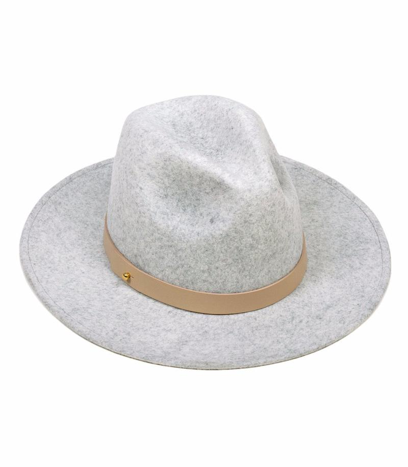 Having a bad hair day? No one has to know, thanks to this chic fedora. (Credit: Lack of Color)