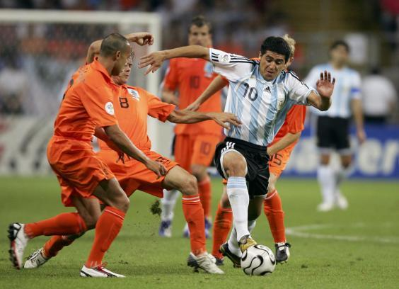 Argentina hold off the Dutch (Bongarts/Getty Images)
