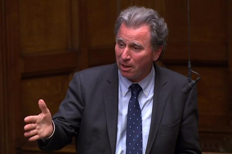 Sir Oliver Letwin said he would not be able to support a bid to put the Labour leader in Number 10 (AFP/Getty Images)