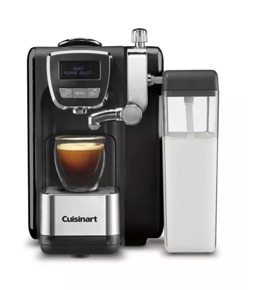 """Get the <a href=""""https://fave.co/37kKyaB"""" target=""""_blank"""" rel=""""noopener noreferrer"""">Cuisinart EM-25 Espresso Defined on sale for $240</a>(normally $3745) at Macy's."""