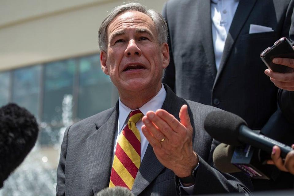 Republican Gregg Abbott displayed a shocking lack of knowledge about women's bodies  (AFP via Getty Images)