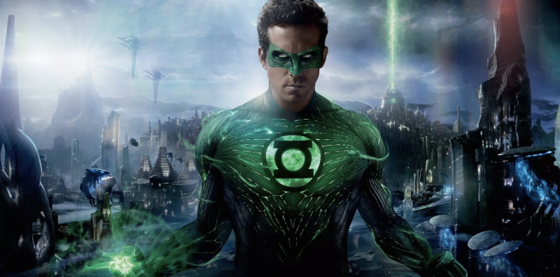 Ryan Reynolds as the Green Lantern (credit: Warner Brothers)