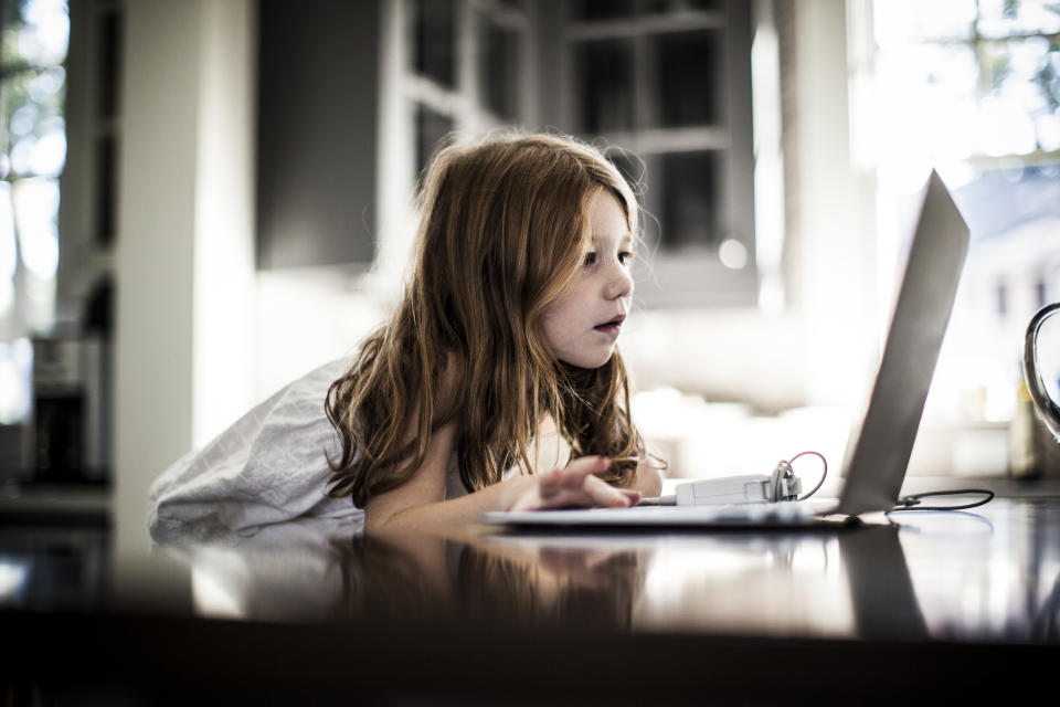 Kids are prime targets for identity thieves because they have no credit histories and no one is checking. (Photo: Getty)