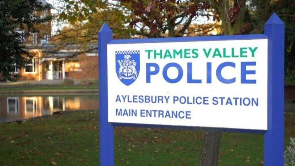 A suspected drug dealer ran straight into nearby Aylesbury police station. (Police)