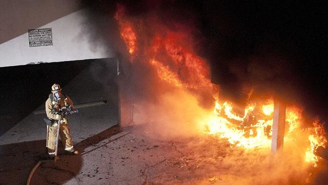Four More Fires Set on New Year's Eve in LA in Possible Serial Arson Attacks