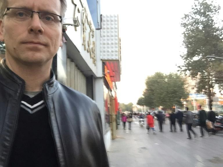 """Gary Dyck, pictured in Xinjiang's Turpan city in 2017, described the repression of the Uyghurs and their culture as creeping and """"very methodical"""""""