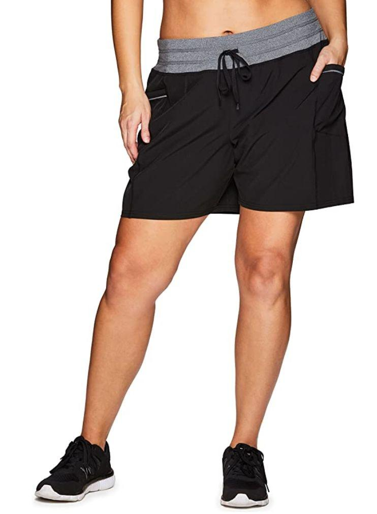 """You can choose among eight different colors of these <a href=""""https://amzn.to/3kEs6PR"""" target=""""_blank"""" rel=""""noopener noreferrer"""">athletic shorts</a>. They're made mostly of polyester with a bit of spandex. And don't worry, these have pockets.<br /><br /><strong>Sizes:</strong> These shorts come in sizes 1X to 3X.<br /><strong>Rating</strong>: They have a 4.4-star rating over more than 200 reviews.<br /><strong>$$$:</strong> <a href=""""https://amzn.to/2E2dIQv"""" target=""""_blank"""" rel=""""noopener noreferrer"""">Find them starting at $27 on Amazon</a>."""