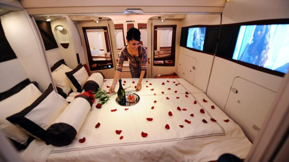 <p>Emirates and Singapore Airlines launch luxury new First Class suites</p>