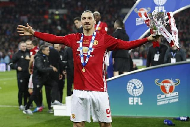 Striker Zlatan Ibrahimovic has terminated his contract with Manchester United with immediate effect, the Premier League club said in a statement on Thursday.