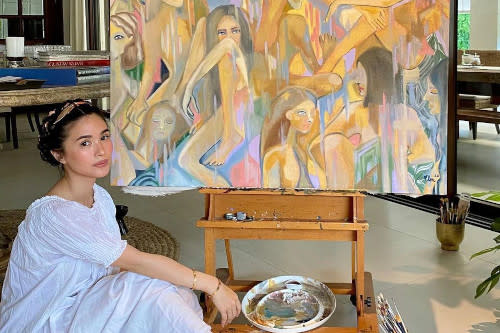 Heart Evangelista is already known for her arts