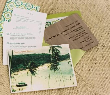 """<div class=""""caption-credit""""> Photo by: Cappy Hotchkiss</div><div class=""""caption-title""""></div>Invitations like this are sure to get your guests excited! <br> <br> <a rel=""""nofollow"""" href=""""http://lover.ly/explore?q=stationery&utm_source=shine04-01-13beach&utm_medium=guest&utm_campaign=shine04-01-13beach"""" target="""""""">From DIY to letterpress- see the latest in wedding stationery.</a> <br> <br> Photo by: <a rel=""""nofollow"""" href=""""http://r.lover.ly/redir.php/AHmZHAZkpfY_aHR0cDovL3d3dy5jYXBweWhvdGNoa2lzcy5jb20v"""" target=""""_blank"""">Cappy Hotchkiss</a> on <a rel=""""nofollow"""" href=""""http://r.lover.ly/redir.php/CkO53VoJX8s_aHR0cDovL3d3dy5zbmlwcGV0YW5kaW5rLmNvbS9yZWFsLXdlZGRpbmctdmFsZXJ5LWNoYXVuY2V5Lmh0bWwv"""" target=""""_blank"""">Snippet and Ink</a> via <a rel=""""nofollow"""" href=""""http://lover.ly/image/11989"""" target=""""_blank"""">Lover.ly</a>"""