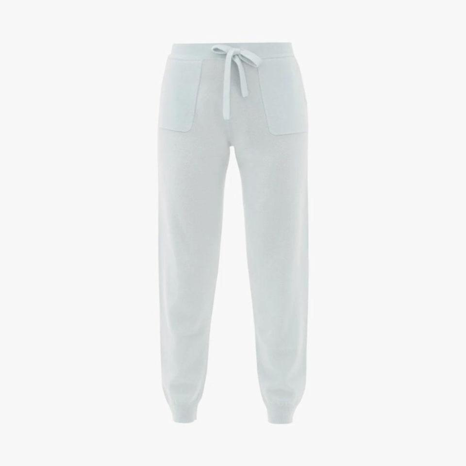 """$303, MATCHESFASHION.COM. <a href=""""https://www.matchesfashion.com/us/products/Allude-Drawstring-wool-blend-track-pants-1399604"""" rel=""""nofollow noopener"""" target=""""_blank"""" data-ylk=""""slk:Get it now!"""" class=""""link rapid-noclick-resp"""">Get it now!</a>"""