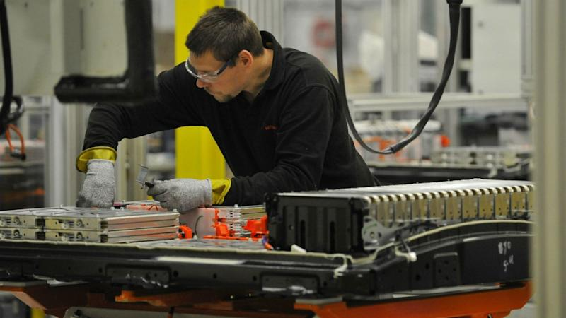 Nissan electric car battery production