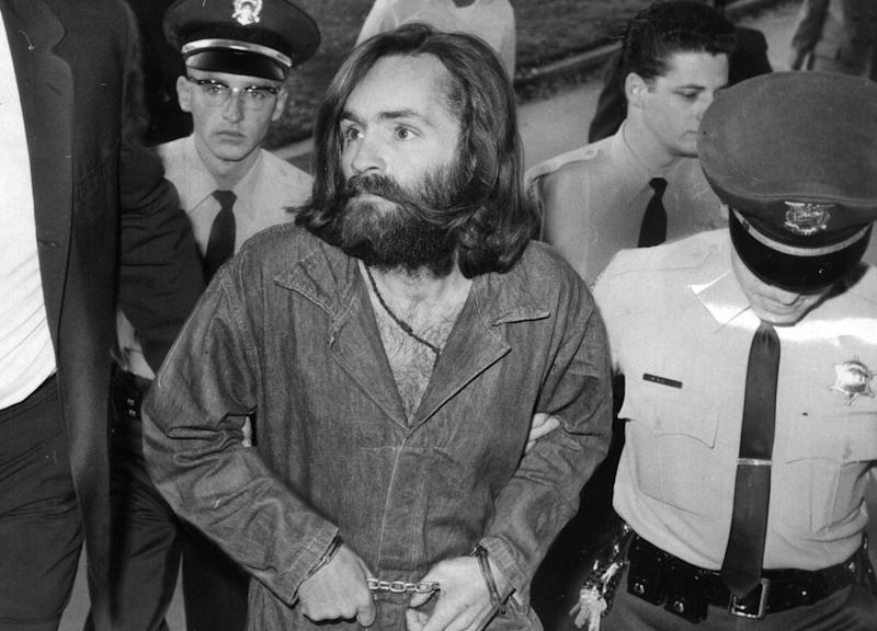 Several Manson family members were arrested shortly after the LaBiancas' murders,thanks to forensic evidence at the crime scenes and the confessions ofpeople involved with the murders.<br /><br />Manson and three of his devout followers ― Atkins, Krenwinkel and Leslie Van Houten ― went on trial in June 1970. A fifth suspect, Linda Kasabian, was given immunity in exchange for her testimony against the others.<br /><br />The courtroom antics of Manson and his followers captured front-page headlines. At one point, Manson carved an X into his forehead, which he turned into a swastika years later. Some of his followers held vigils outside the courthouse.<br /><br />On Jan. 25, 1971, the jury convicted the four defendants on multiple counts of first-degree murder. <br /><br />Roughly a year later, Manson was convicted of two additional counts of first-degree murder for Hinman'smurder and the August 1969killingof horse wrangler Donald Shea.