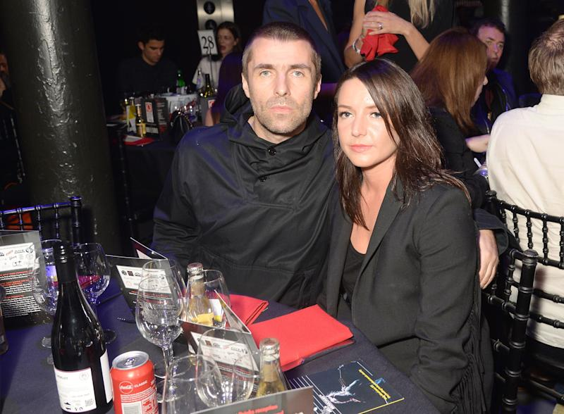 Liam Gallagher (L) and Debbie Gwyther attend The Q Awards 2017, in association with Absolute Radio, at The Roundhouse on October 18, 2017 in London, England. (Photo by Dave J Hogan/Dave J Hogan/Getty Images)