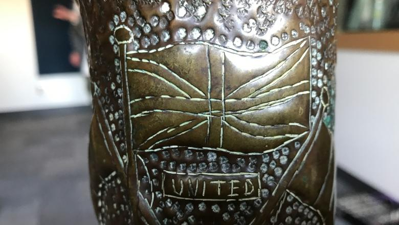 From war, comes art: Thrift store find of gun shells treasured by N.L. man