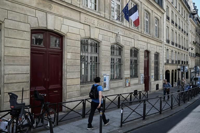 Just 51 students were enrolled this year at Vaugirard, a stark illustration of the steady decline in numbers at many schools in central Paris which some parents and teachers blame on the surge of home-renting giant Airbnb (AFP Photo/Philippe LOPEZ)