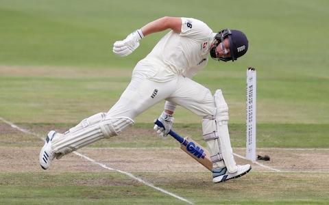 England's Ollie Pope in action  - Credit: REUTERS/Siphiwe Sibeko