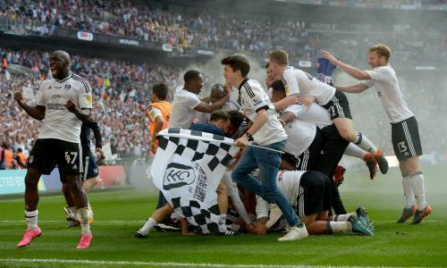 Fulham promoted to Premier League after play-off win over Aston Villa