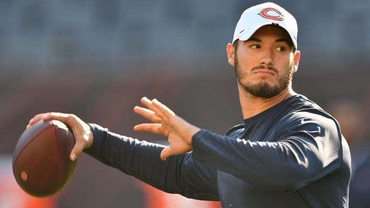 Under Center Podcast: Mitch Trubisky speaks... but how much did he really say?