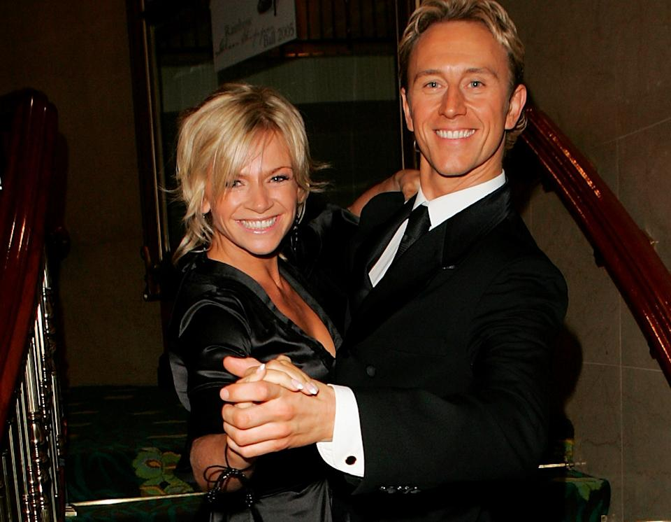 Zoe Ball competed on 'Strictly' in 2005 with Ian Waite. (Getty Images)