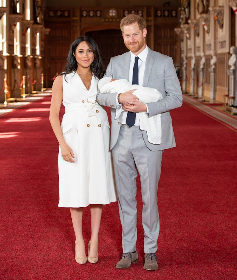 The Duchess of Sussex wearing Wales Bonner - Getty Images