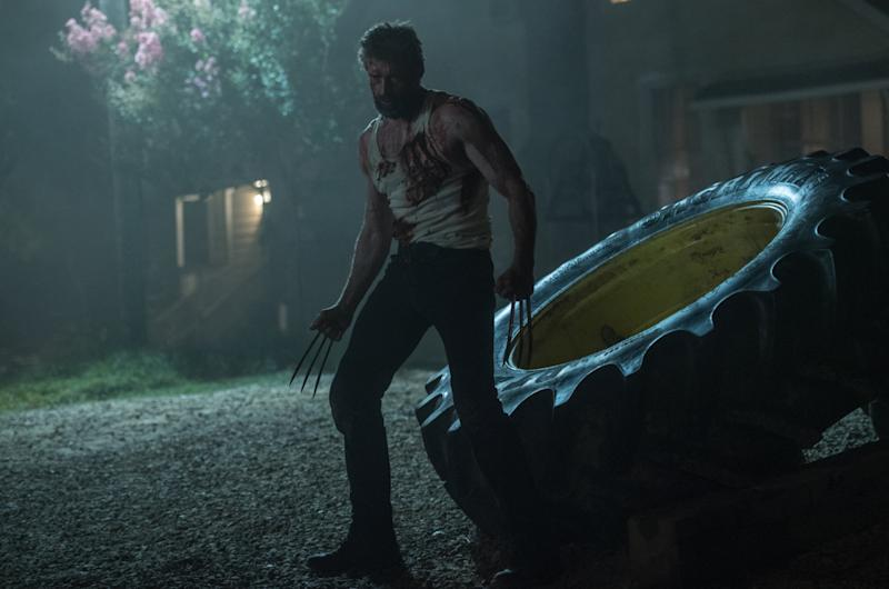 'Logan's box office success demonstrates the demand for grislier, adult-oriented movies (credit: 20th Century Fox)