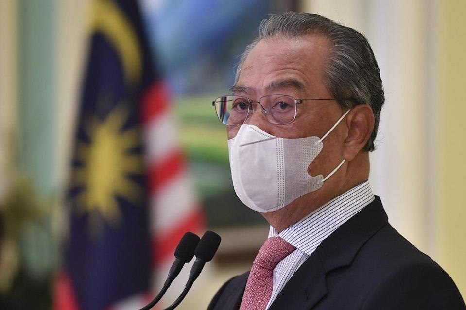Tan Sri Muhyiddin Yassin's appointment would carry a similar status to a minister. — Bernama pic