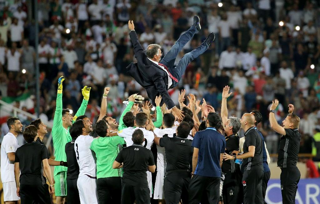 Carlos Queiroz has achieved the unique feat of reaching four World Cups with three different teams, including South Africa, Portugal and Iran (AFP Photo/ATTA KENARE)